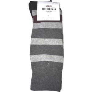 Ben Sherman Original Striped Dress Socks